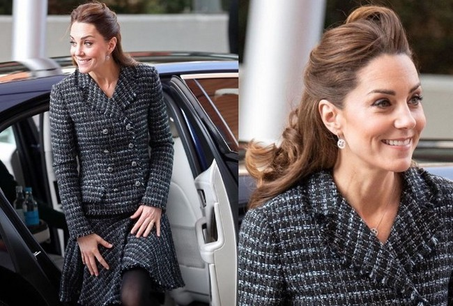 Kate Middleton Came To Visit A Children's Hospital In London
