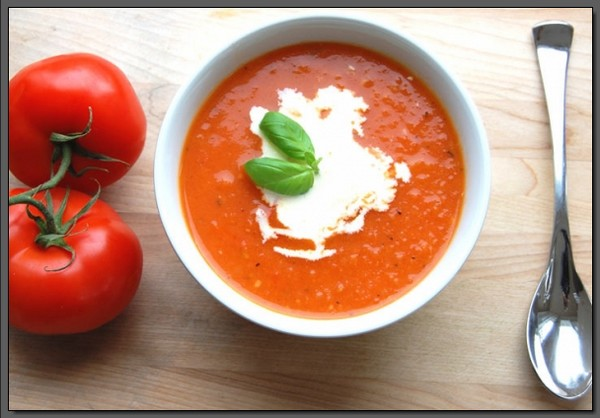 Slimming Tomato Soup for Weight Loss