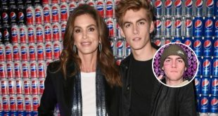 The Son Of Supermodel Cindy Crawford Got A Tattoo On His Face