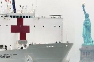 Corona Crisis in The USA - A Floating Hospital For New York