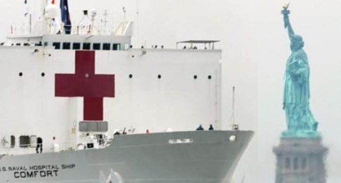 Corona Crisis in The USA – A Floating Hospital For New York