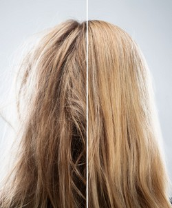 K Like Keratin will look healthy and silky shiny.
