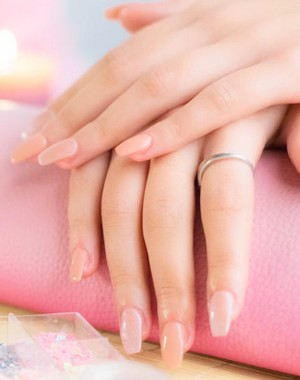 Gel Nails With A French Manicure