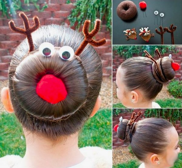 Best Christmas hairstyles for girls